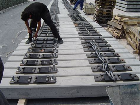 Prestressed Concrete Sleepers Manufacturers by National Precast Concrete Association Australia Sleepers