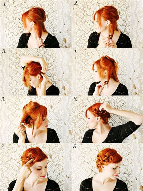 How To Style Pin Curls ? A Beautiful Mess