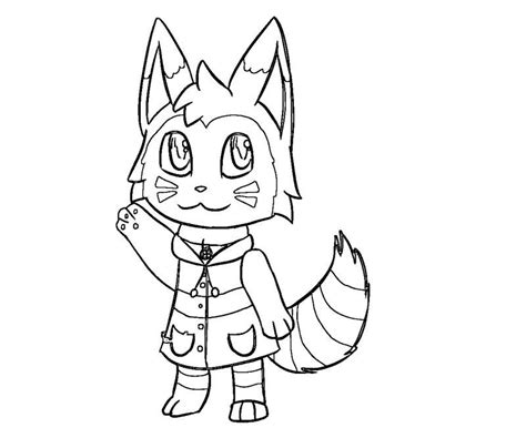 animal crossing coloring pages coloring home