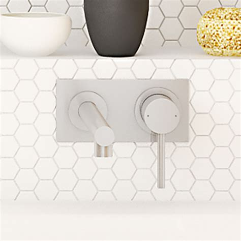 Rere Set Premium Quality By Arfita caroma titan stainles steel wall basin mixer thrifty
