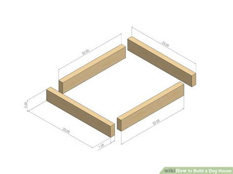 how to build a two dog dog house how to build a dog house with pictures wikihow