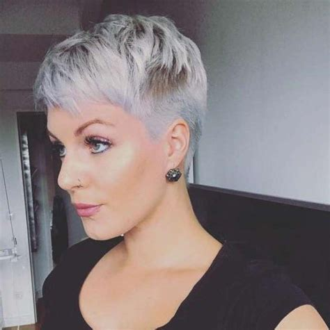 12 best images about grey hairstyles on pinterest her 20 best ideas of grey pixie haircuts