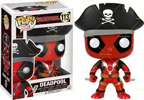 Funko Dorbz Marvel Deadpool Pirate funko pop vinyl marvel deadpool pirate exc bobble