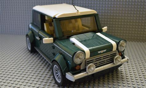 lego mini cooper interior bricks pix and panels lego review 10242 mini cooper
