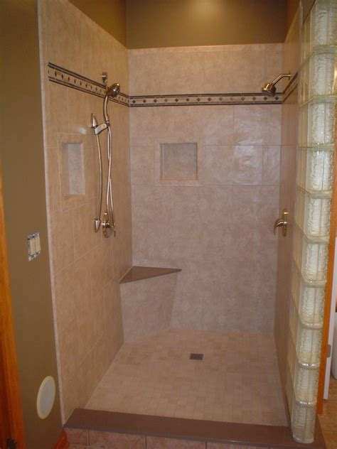 Showers Ideas Small Bathrooms Tile Shower Ideas For Small Bathroom Plans Floor Bathrooms Layout Layouts Design Ideas