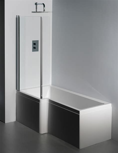 1600 shower baths carron quantum 5mm acrylic square shower bath 1600 x 850mm lh