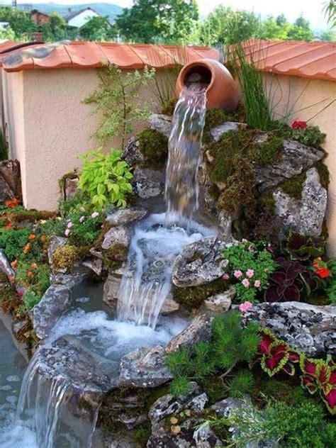 waterfall fountains for backyard beautiful garden fountains home design garden