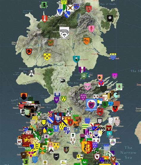 map layout for game of thrones interactive got map geek out pinterest everything