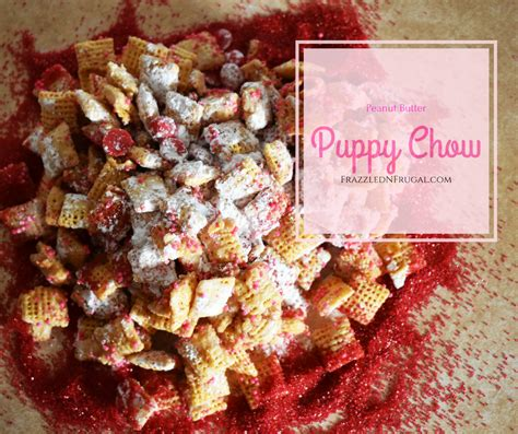 puppy chow recipe without peanut butter peanut butter puppy chow recipe frazzled n frugal