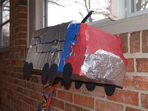 How To Make Optimus Prime Out Of Paper - how to make optimus prime pinata autry creations