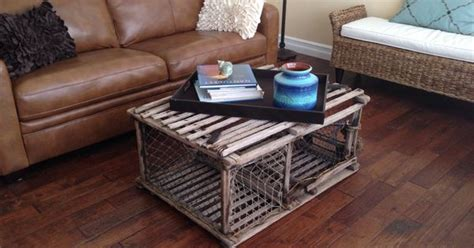 my lobster trap coffee table for the home