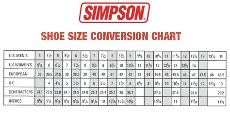 shoe size chart mm metric shoe size conversion chart style guru fashion