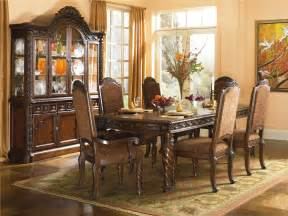 dining room furniture set ashley millennium north shore dining room set d553