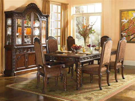 ashley millennium north shore dining room set  royal furniture outlet