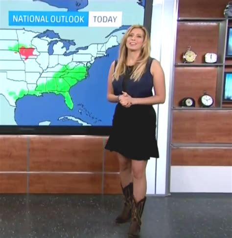 weather channel girl stephanie pictures to pin on the appreciation of booted news women blog stephanie abrams