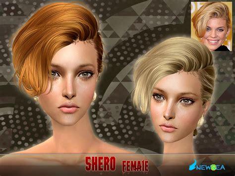 hair download sims 2 newsea sims2 hair j055f shero