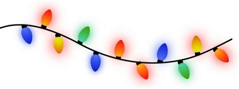 string of christmas lights free vector in adobe