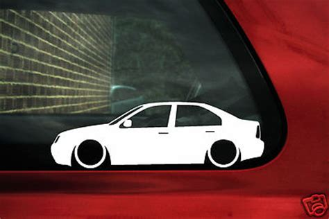 vw bora jetta mk   motion tdi   turbo outline silhouette stickers decals