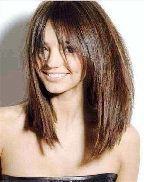 lob cut with bangs 27 fabulous lob hairstyles you ll want to copy now lob