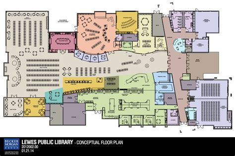 library floor plan design library design lewes public library for the next 50 years