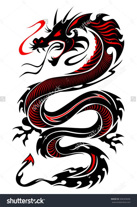 Tattoo Dragon Logo | tribal dragon tiger www pixshark com images galleries