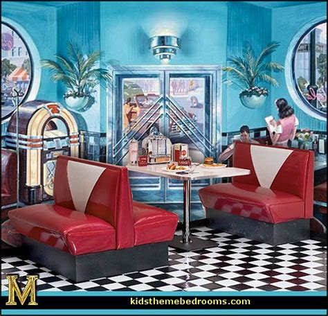 50s home decor decorating theme bedrooms maries manor retro