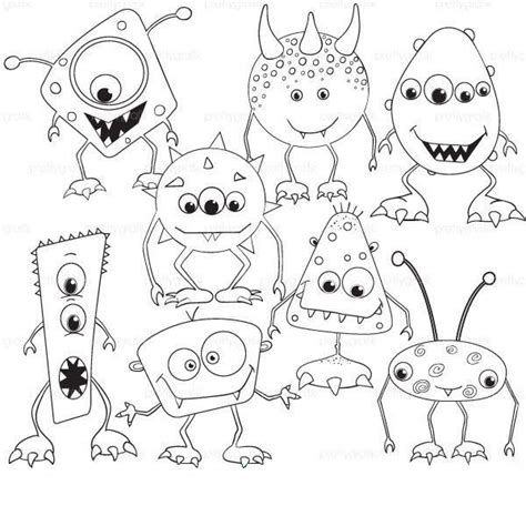 Inc Characters Coloring Pages by Monsters Inc Characters Coloring Pages At Getcolorings