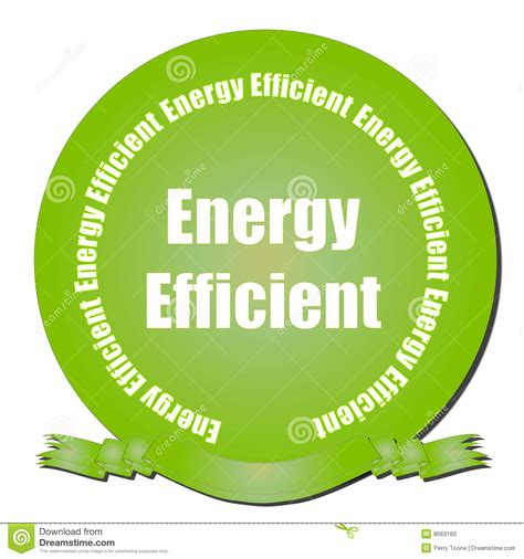 energy efficient energy efficient seal stock photo image 8063160