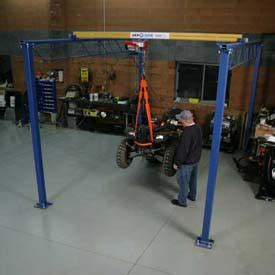 hoists cranes cranes floor jib shop crane 1000