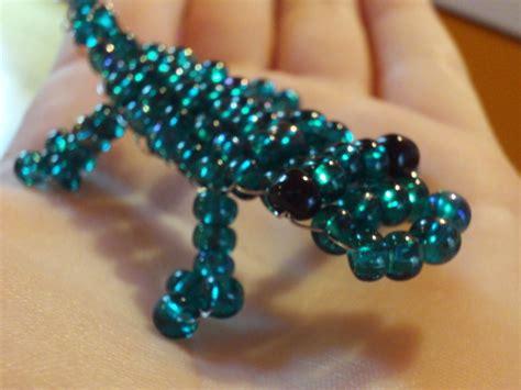 alligator bead pattern beaded crocodile 183 410