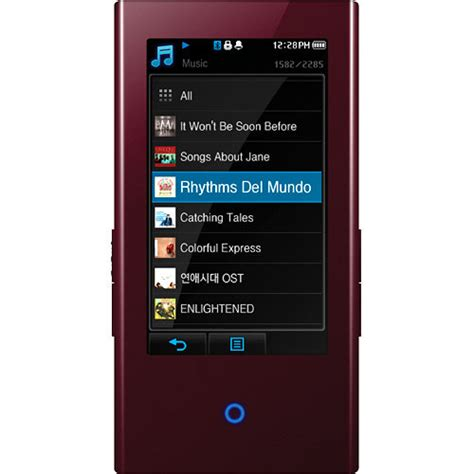 Samsung P2 Review by Samsung P2 4gb Portable Media Player Burgundy Ypp2jar