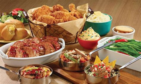 buffet food and drinks home town buffet ovation brands