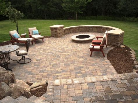 Backyard Pavers Ideas Small Back Yard Patios Patio Pavers Residential Patio Pavers Seatwallcolumns 800x600