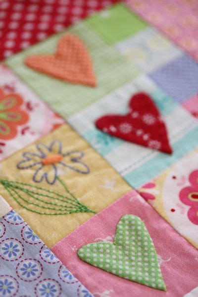 Different Patchwork Techniques - fabrics and the on