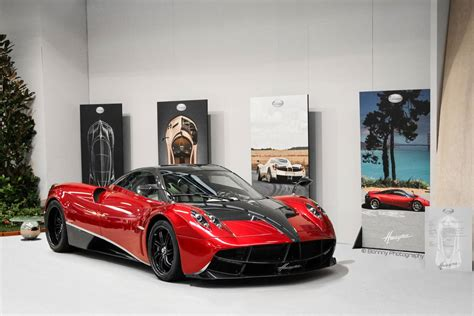 pagani huayra red pagani huayra red and black