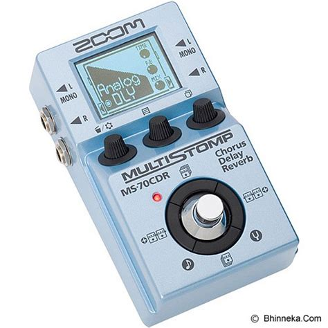 Harga Effect Me 70 jual zoom guitar multi effects pedal ms 70cdr murah
