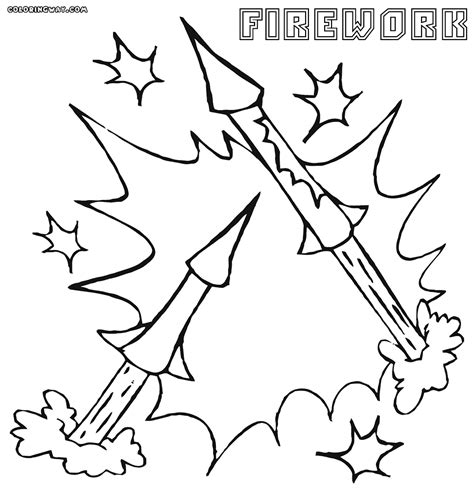 bottle rocket coloring page fireworks coloring pages printable fourth of july