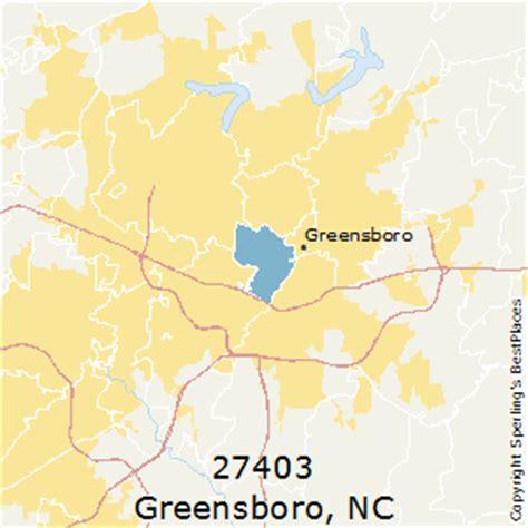 greensboro zip code map best places to live in greensboro zip 27403 carolina