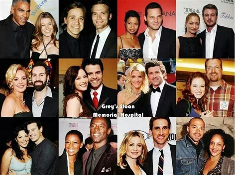 grey s anatomy cast offers hope for couples of grey sloan significant other grey s anatomy pinterest