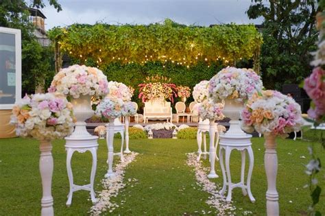 wedding decoration bandung towers garden wedding decoration by sheraton bandung hotel