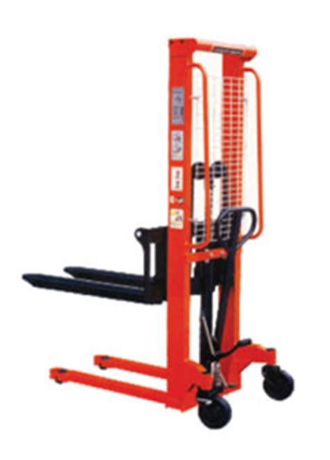 Jual Forklift Electric Noblift Fe4p20 harga jual stacker manual jakarta surabaya semarang
