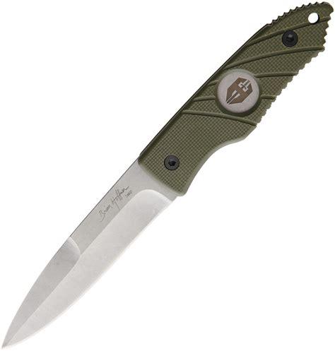 spear knife ata33 hoffner spear knife olive