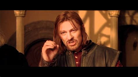 one does not simply walk into mordor the origin of memes