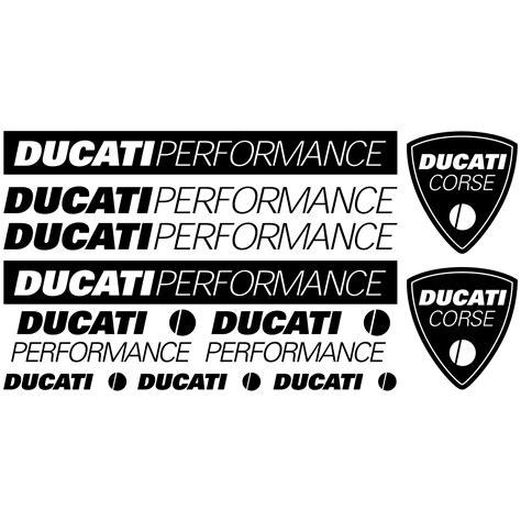Ducati Wall Sticker by Wallstickers Folies Ducati Performance Decal Stickers Kit