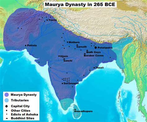mauryan empire ancient history encyclopedia file maurya dynasty in 265 bce jpg
