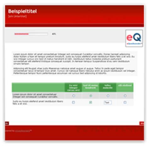 online umfrage layout system layout vorlagen equestionnaire