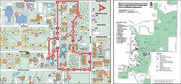 Miami University Map by Oxford Campus Maps Miami University