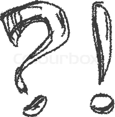 fragezeichen ausrufezeichen eps8 vektorgrafik colourbox