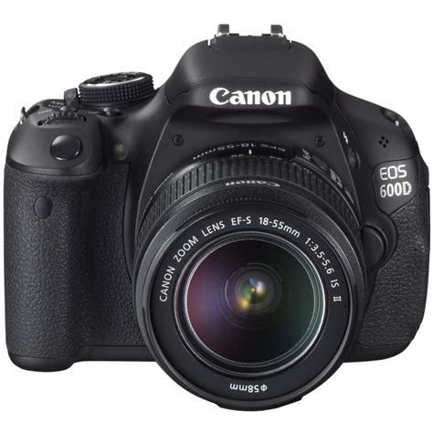 canon slr canon eos 600d digital slr and 18 55mm is ii