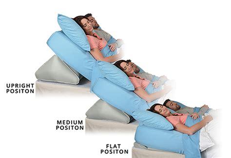 adjustable bed wedge pillow sharper image
